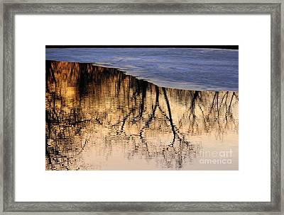 Isles Reflections Framed Print