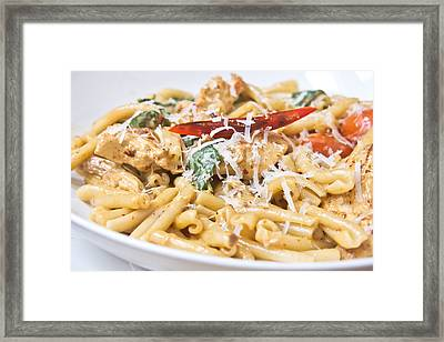 Italian Dish Framed Print
