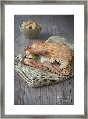 Italian Sandwich Framed Print by Sabino Parente