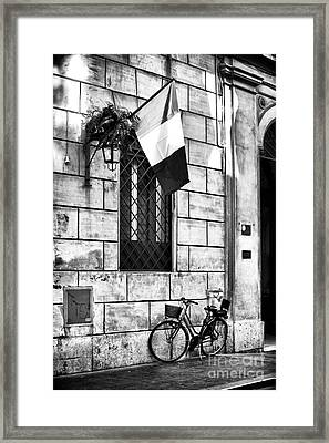 Italy Framed Print by John Rizzuto