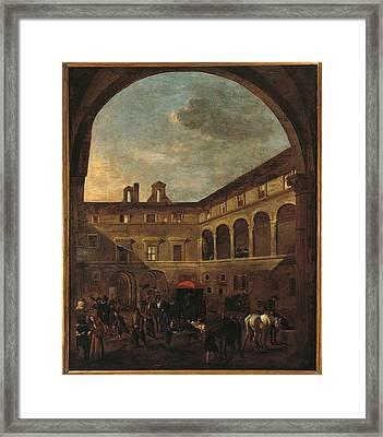 Italy, Lazio, Rome, Palazzo Koch Framed Print by Everett