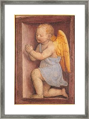 Italy, Lombardy, Milan, Santa Maria Framed Print