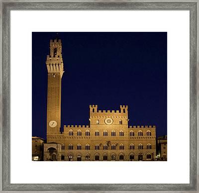 Italy, Tuscany, Sienna Framed Print