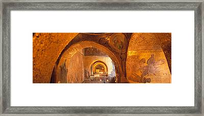 Italy, Venice, San Marcos Cathedral Framed Print by Panoramic Images