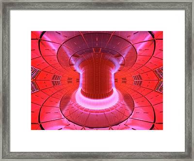 Iter Reaction Vessel Framed Print by David Parker