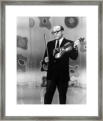 Jack Benny Framed Print