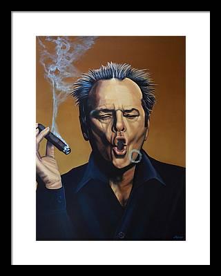 Jack Nicholson Framed Prints