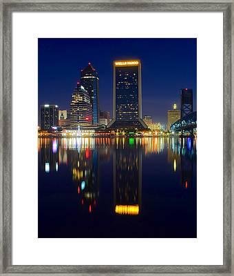 Jacksonville Eight By Ten Framed Print