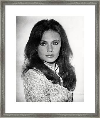 Jacqueline Bisset Framed Print by Silver Screen