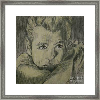 James Dew Dean Framed Print