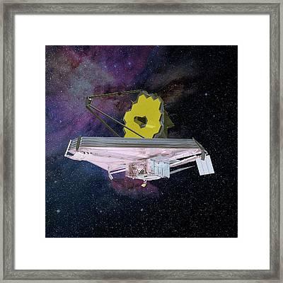 James Webb Space Telescope Framed Print