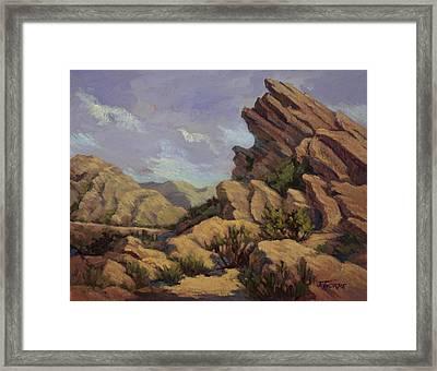 Vasquez Sunpocket Framed Print by Jane Thorpe