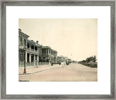 Japan Kobe, 1880s Framed Print by Granger