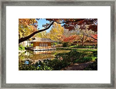 Framed Print featuring the photograph Japanese Gardens by Ricardo J Ruiz de Porras
