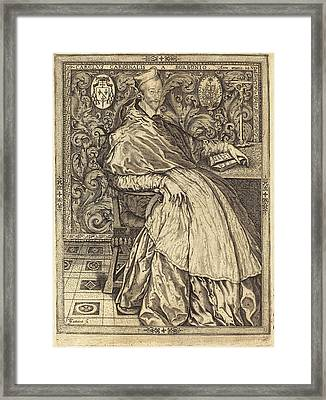 Jean De Gourmont I French, Active 1506-1551 Framed Print by Quint Lox