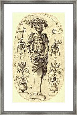 Jean Mignon, French Active 1543-active C Framed Print by Litz Collection
