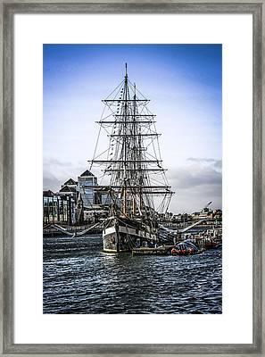Jeanie J Framed Print by Chris Smith
