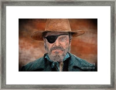 Jeff Bridges As U.s. Marshal Rooster Cogburn In True Grit  Framed Print
