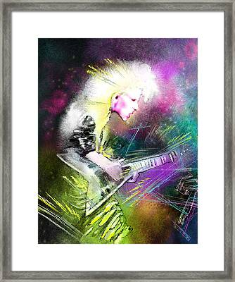Jennifer Batten Framed Print by Miki De Goodaboom