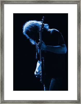 Jerry Blue Sillow Framed Print