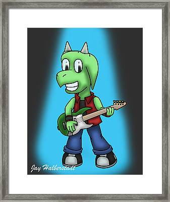 Jett Bass Framed Print
