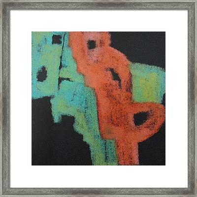 Jigsaw Framed Print by Katie Black