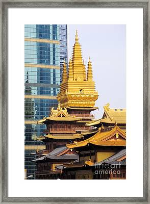 Jin An Temple Shanghai Framed Print