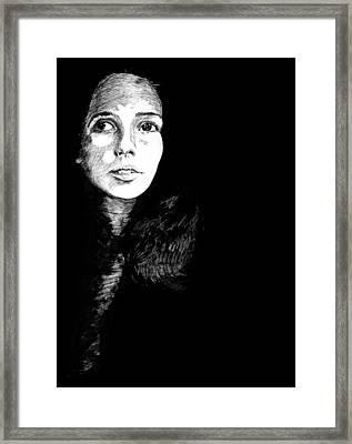 Joan Framed Print