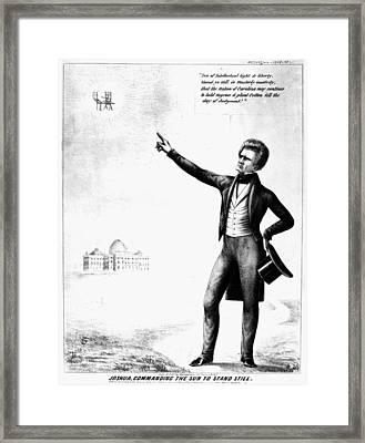 John C Framed Print by Granger