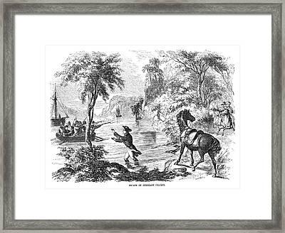 John Champe (1752-1798) Framed Print