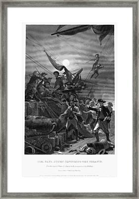 John Paul Jones (1747-1792) Framed Print by Granger