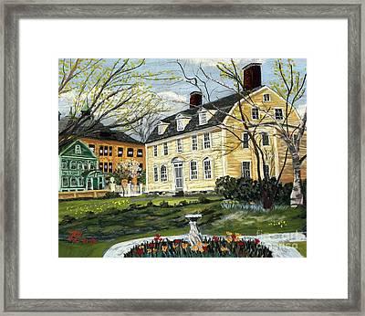John Paul Jones House Framed Print