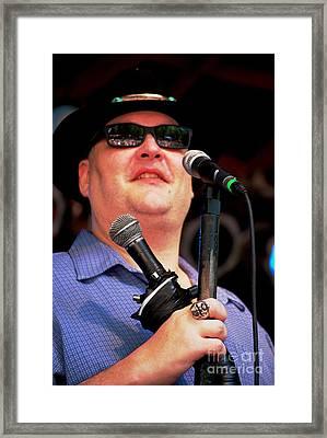 John Popper Framed Print by Angela Murray