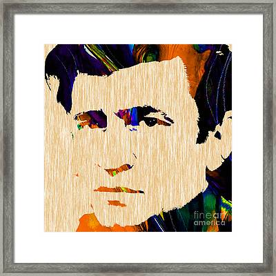 Johnny Cash Collection Framed Print