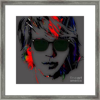 Jon Bon Jovi Collection Framed Print