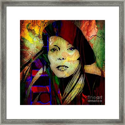 Joni Mitchell Collection Framed Print