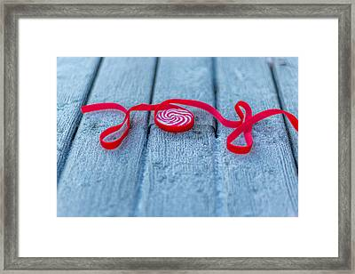 Joy Framed Print by Aldona Pivoriene