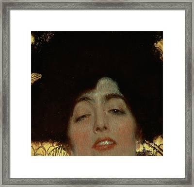 Judith Framed Print by Gustav Klimt