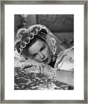 Judy Garland Framed Print by Retro Images Archive