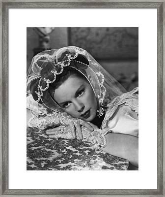 Judy Garland Framed Print