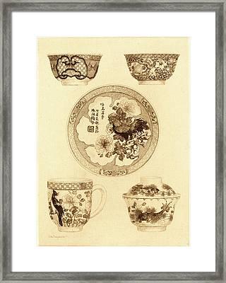 Jules-ferdinand Jacquemart, French 1837-1880 Framed Print