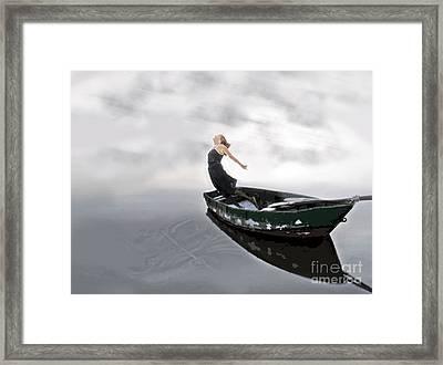Framed Print featuring the digital art Jump by Denise Deiloh