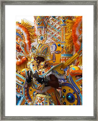 Junkanoo Cowbells Framed Print by Kimberly Perry