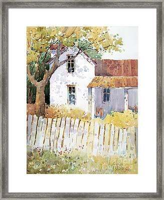 Kansas Charm Framed Print