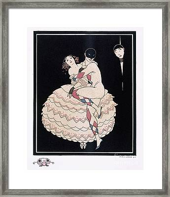 Karsavina Framed Print by Georges Barbier