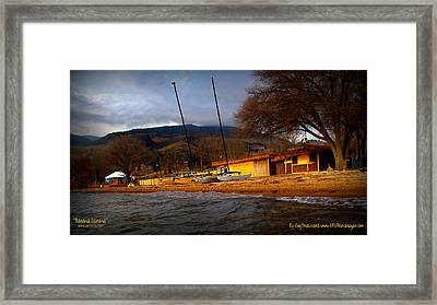 Framed Print featuring the photograph Kayaking by Guy Hoffman