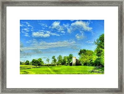 Kentucky Countryside Framed Print by Darren Fisher