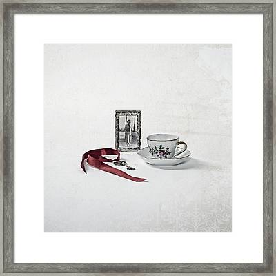 Key To My Memories Framed Print by Joana Kruse