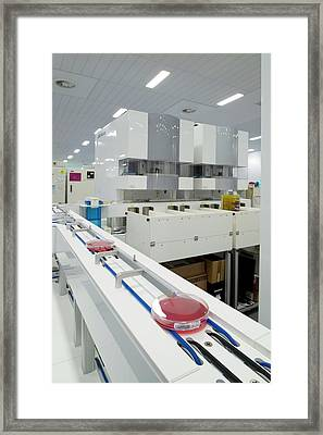 Kiestra Automated Screening Machine Framed Print by Aberration Films Ltd