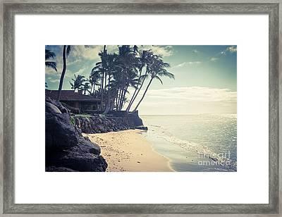 Kihei Maui Hawaii Framed Print